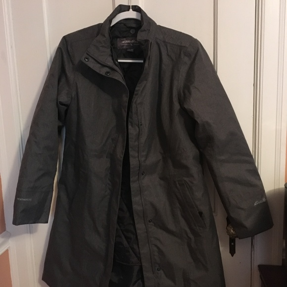 154972451 Eddie Bauer girl on the go Insulated Trench Coat M